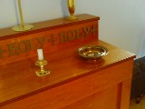 child-sized altar